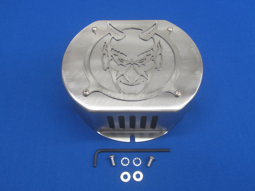 steel exciter diablo cover for lincoln sa-200 sa-250 dc only, classic 1,  pipeliner 200g & 200d sae 300 dc only