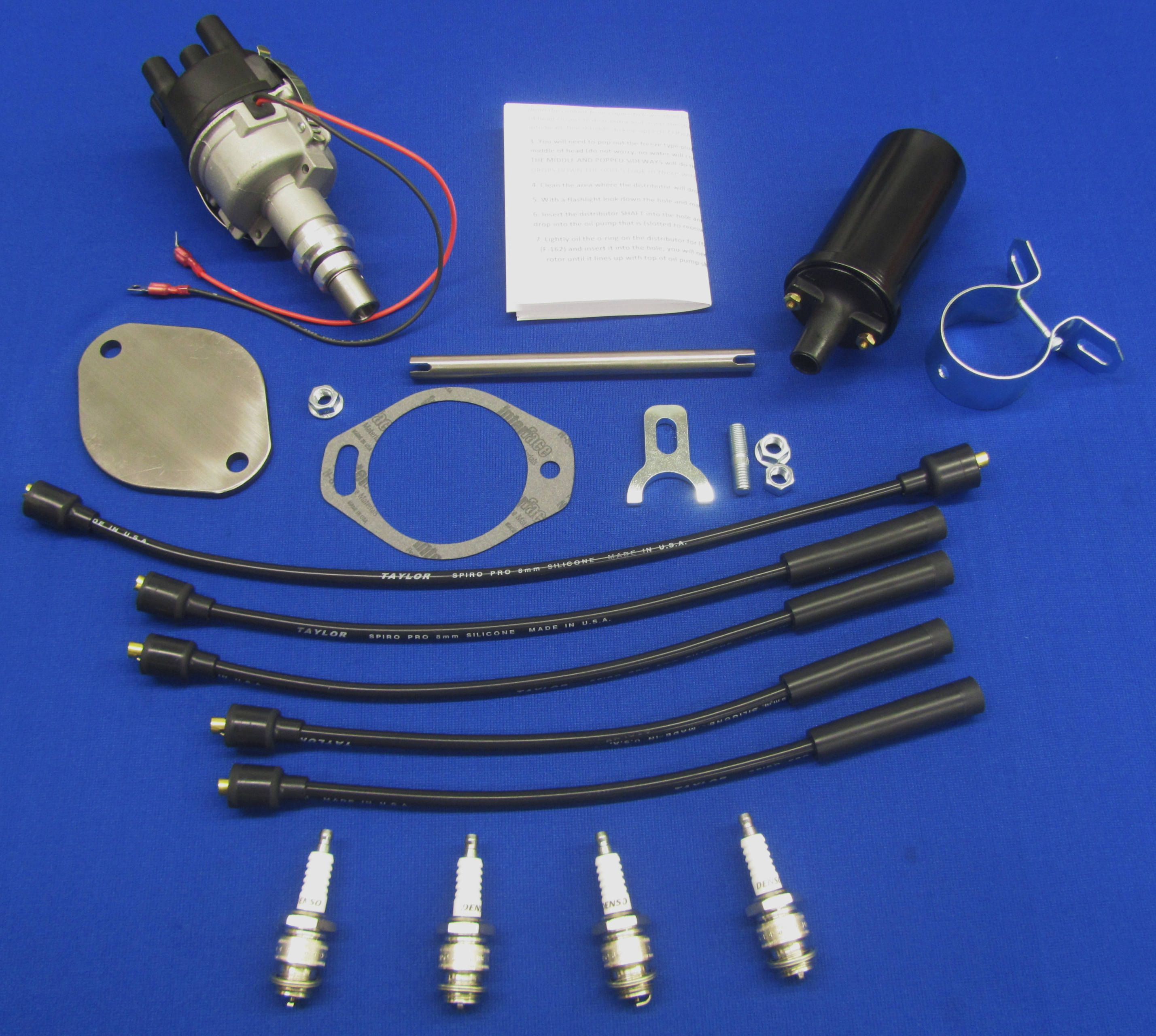Sa-200 F-163 Electronic Ignition Upgrade Kit With Spark Plugs ... on